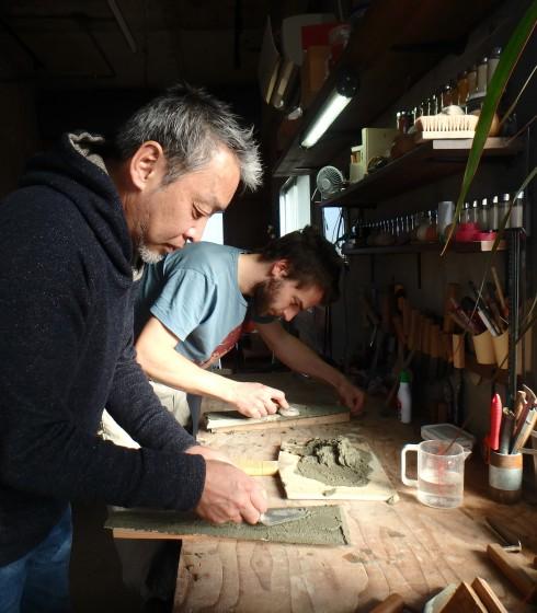 Dans l'atelier de Kenji MATSUKI